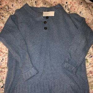 American Eagle brand new blue sweater